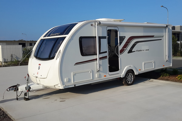 caravan storage sunshine coast
